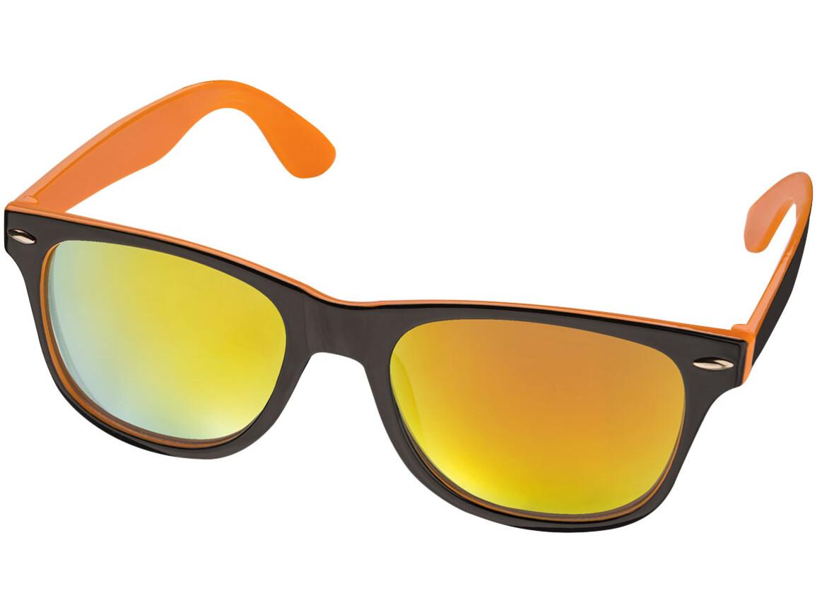 Baja Sonnenbrille, schwarz,orange bedrucken, Art.-Nr. 10042302