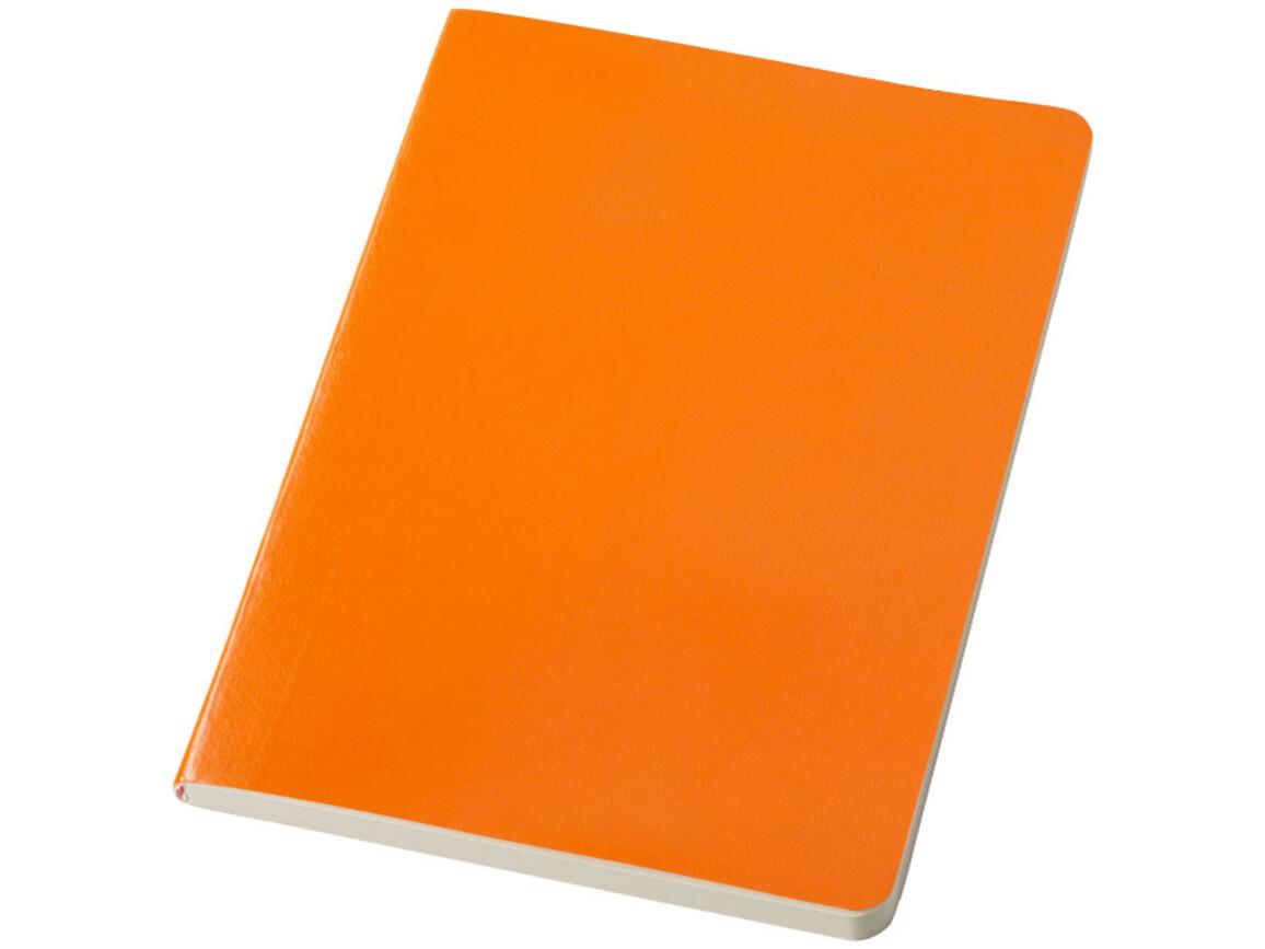 Gallery A5 Soft Cover Notizbuch, orange bedrucken, Art.-Nr. 10679504