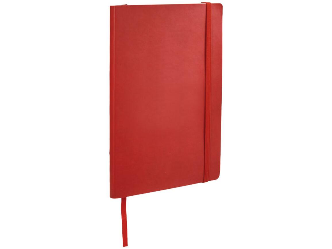 Classic A5 Soft Cover Notizbuch, rot bedrucken, Art.-Nr. 10683002