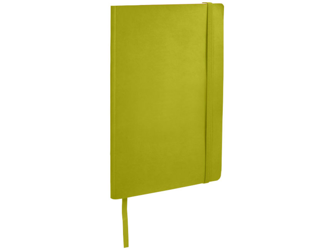 Classic A5 Soft Cover Notizbuch, limone bedrucken, Art.-Nr. 10683004