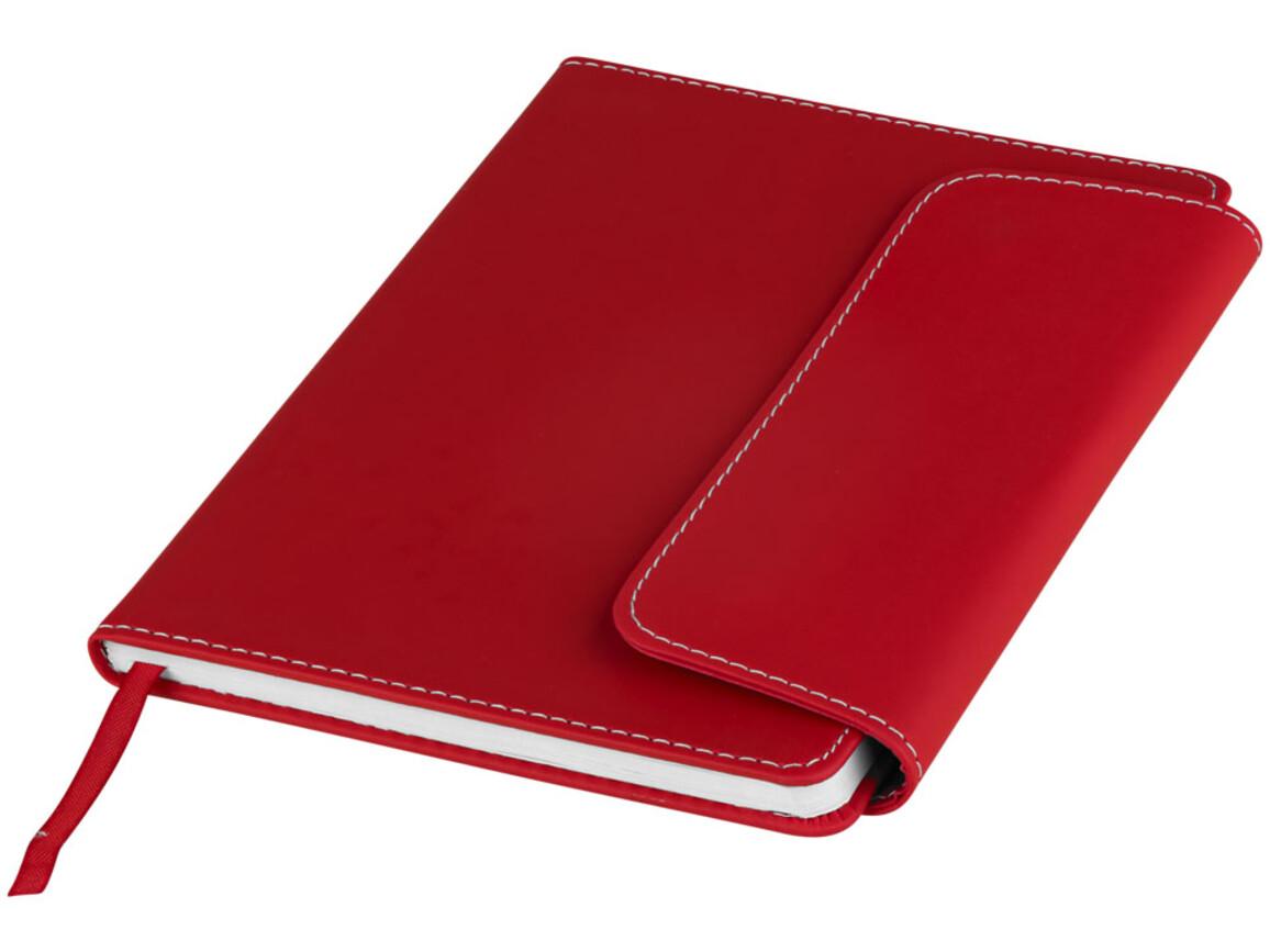 Horsens A5 Notizbuch mit Stylus Kugelschreiber, rot bedrucken, Art.-Nr. 10685102