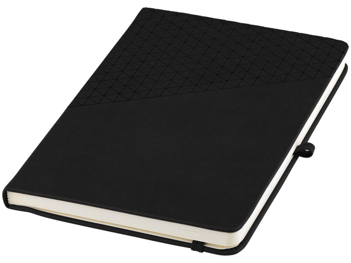 Theta A5 Notizbuch, schwarz bedrucken, Art.-Nr. 10688100