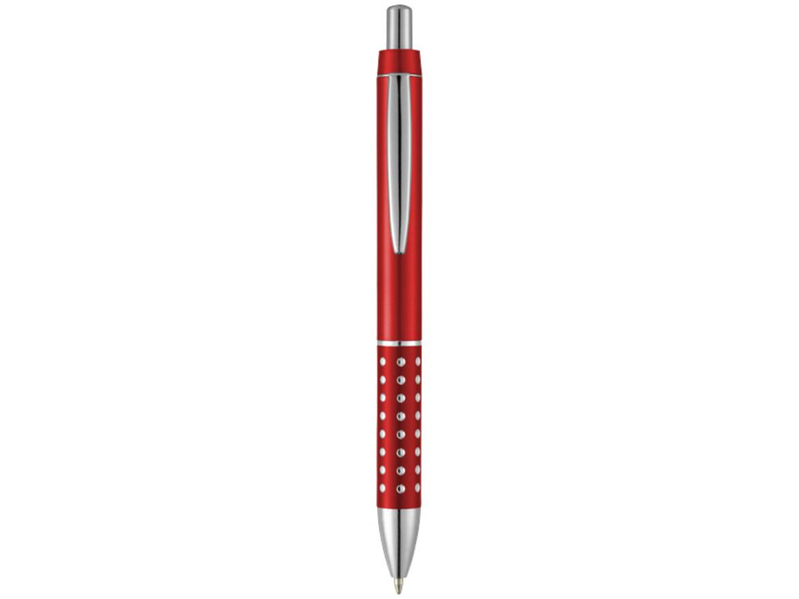 Bling Kugelschreiber mit Aluminiumgriff, rot bedrucken, Art.-Nr. 10690102