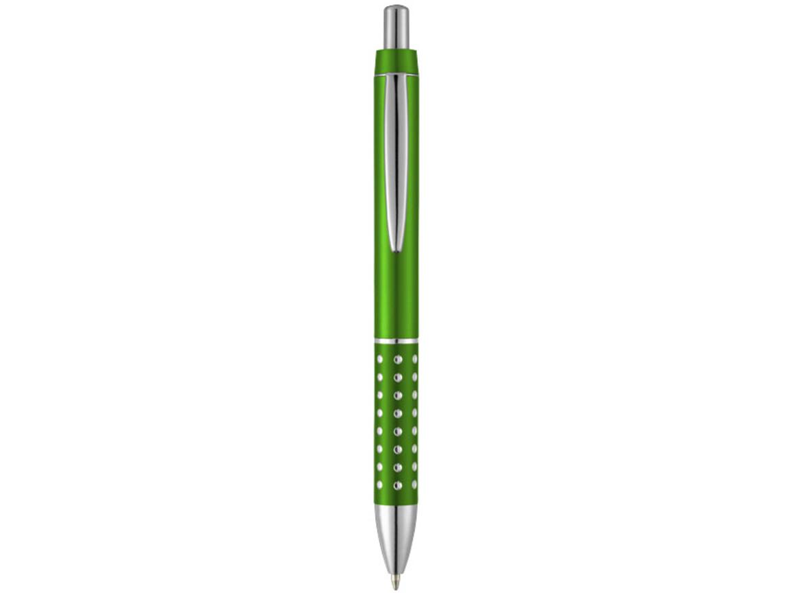Bling Kugelschreiber mit Aluminiumgriff, grün bedrucken, Art.-Nr. 10690110