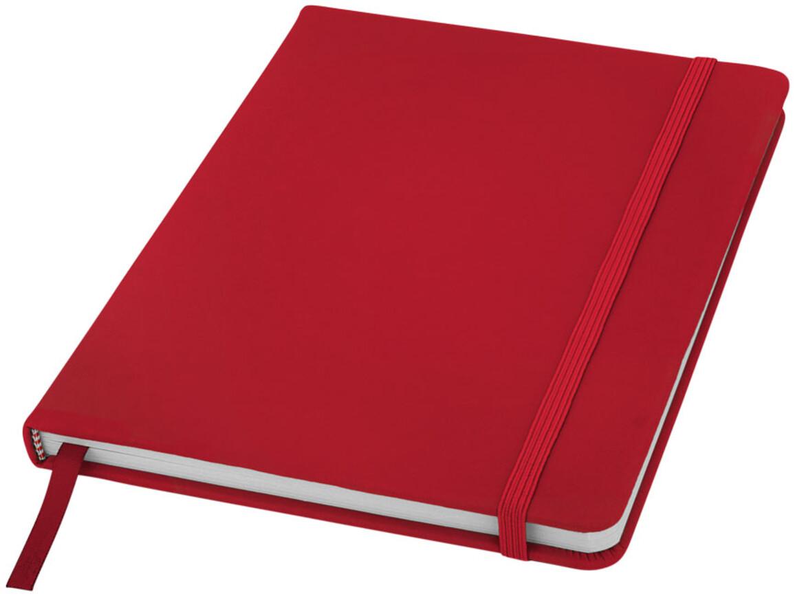 Spectrum A5 Hard Cover Notizbuch, rot bedrucken, Art.-Nr. 10690402