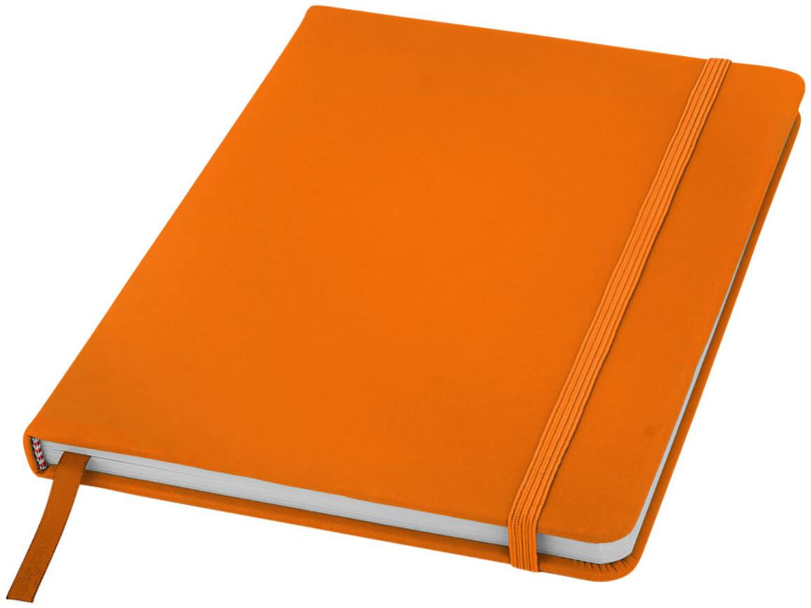Spectrum A5 Hard Cover Notizbuch, orange bedrucken, Art.-Nr. 10690405