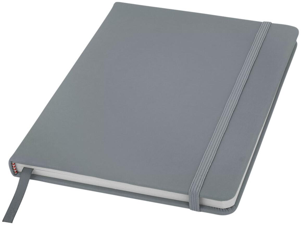 Spectrum A5 Hard Cover Notizbuch, silber bedrucken, Art.-Nr. 10690406