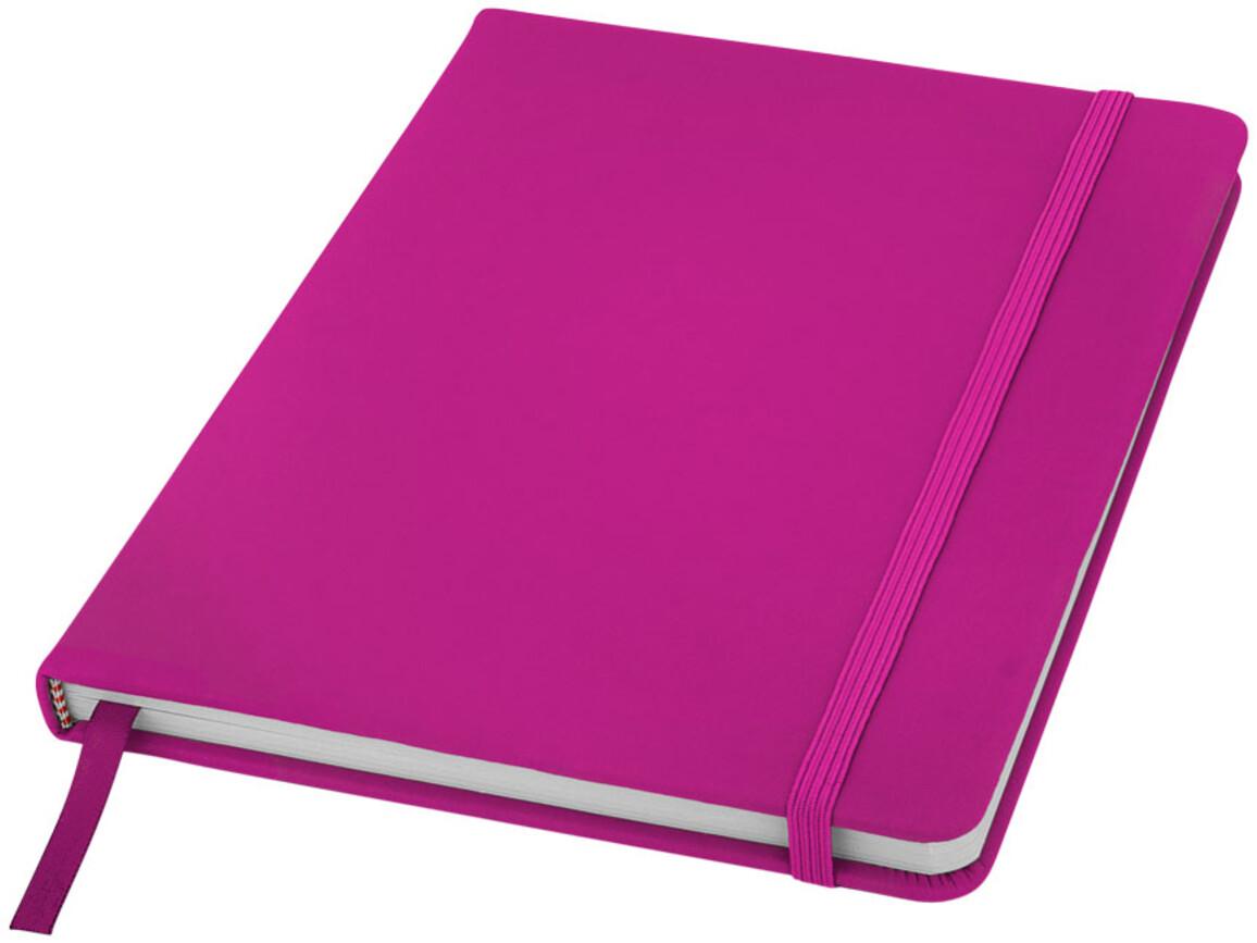 Spectrum A5 Hard Cover Notizbuch, magenta bedrucken, Art.-Nr. 10690408