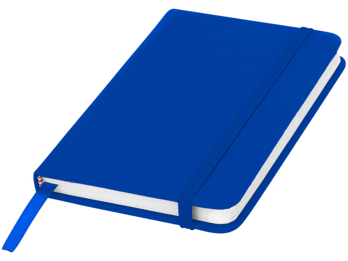 Spectrum A6 Hard Cover Notizbuch, royalblau bedrucken, Art.-Nr. 10690501