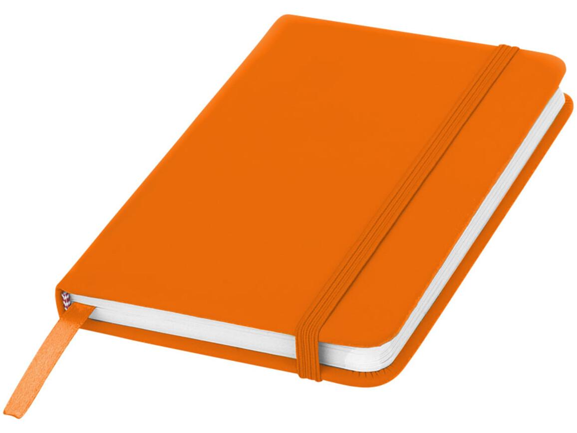 Spectrum A6 Hard Cover Notizbuch, orange bedrucken, Art.-Nr. 10690505