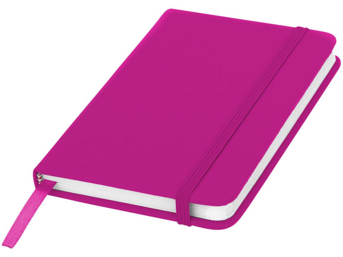 Spectrum A6 Hard Cover Notizbuch, rosa bedrucken, Art.-Nr. 10690508