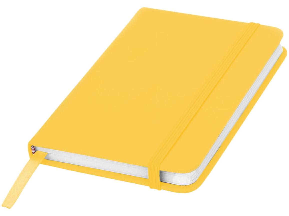 Spectrum A6 Hard Cover Notizbuch, gelb bedrucken, Art.-Nr. 10690509