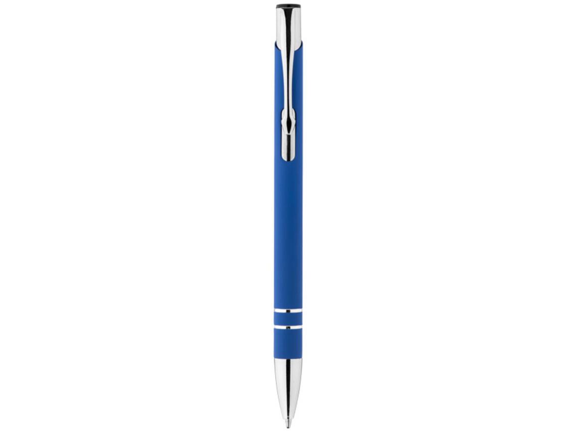 Corky Kugelschreiber mit Außengummierung, royalblau bedrucken, Art.-Nr. 10699901