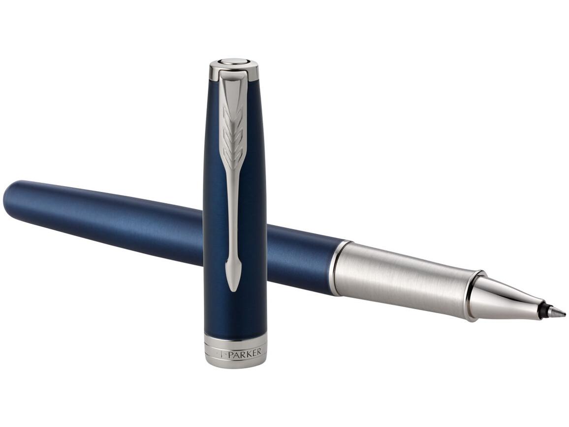 Sonnet Tintenroller, blau, silber bedrucken, Art.-Nr. 10701304