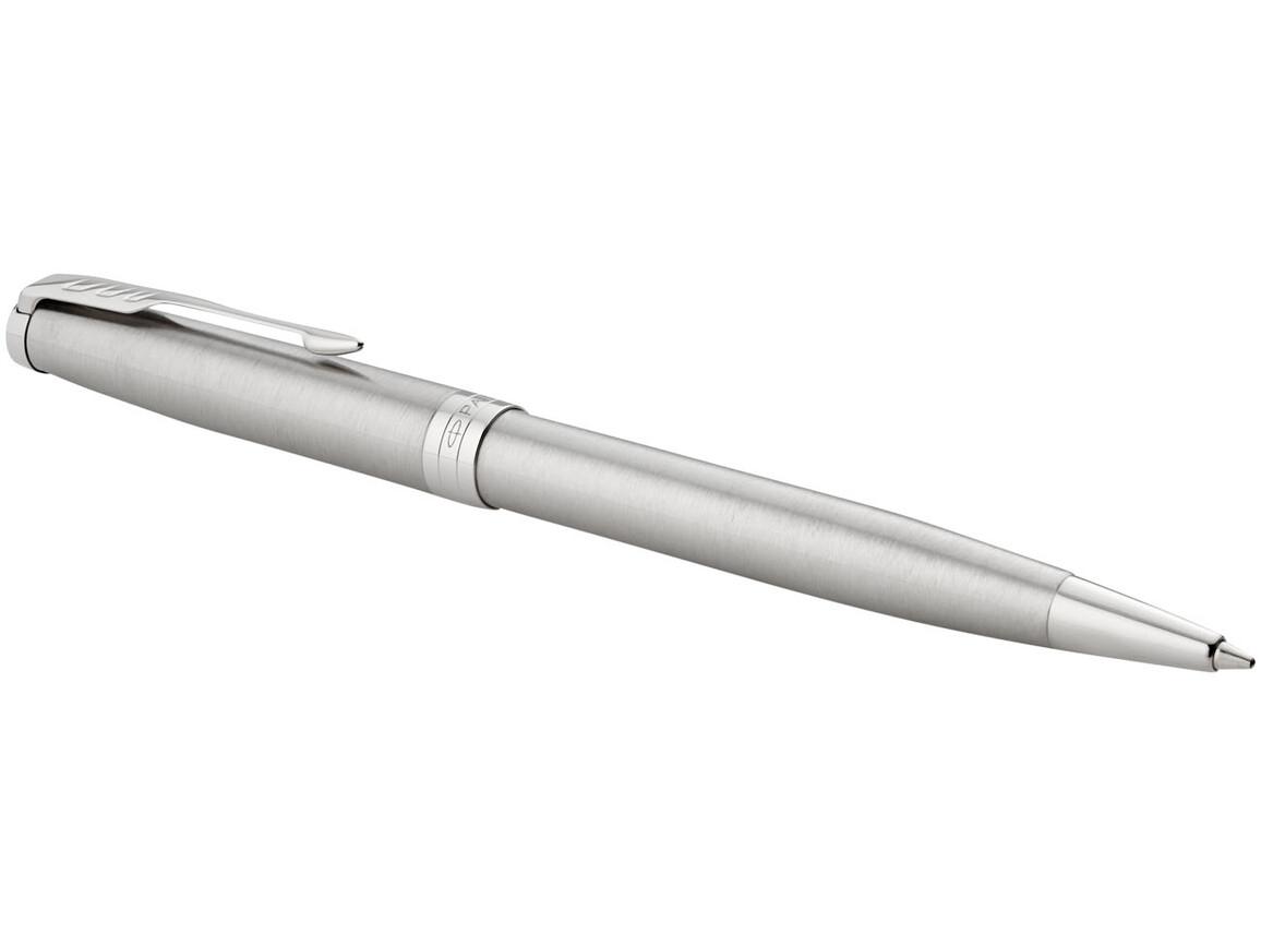 Sonnet Kugelschreiber, silber, roségold bedrucken, Art.-Nr. 10701402