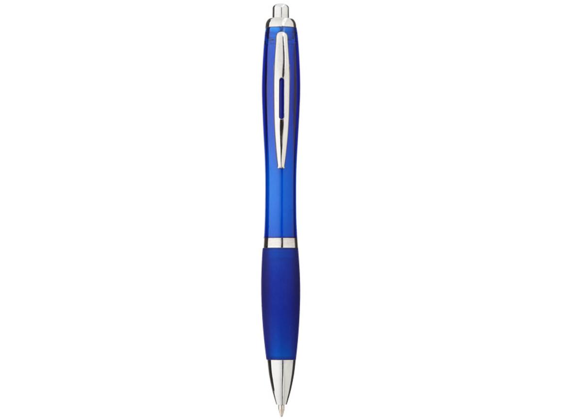 Nash Kugelschreiber mit farbigem Schaft und Griff, royalblau bedrucken, Art.-Nr. 10707801