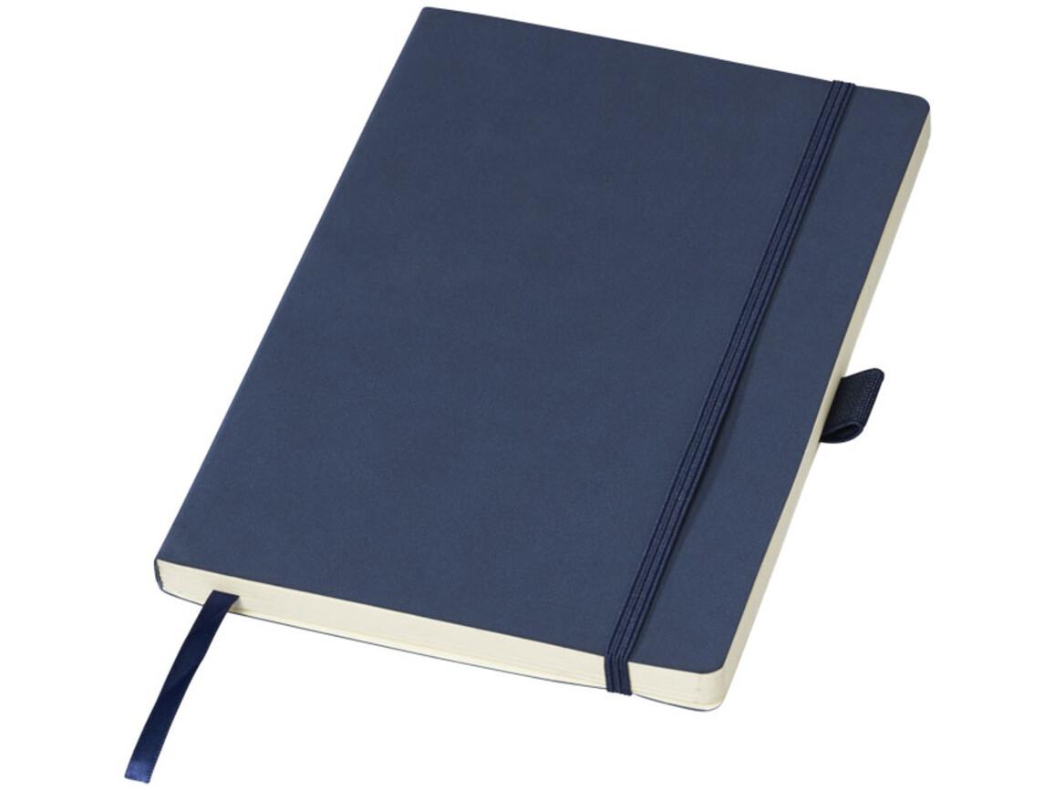 Revello A5 Soft Cover Notizbuch, dunkelblau bedrucken, Art.-Nr. 10707901