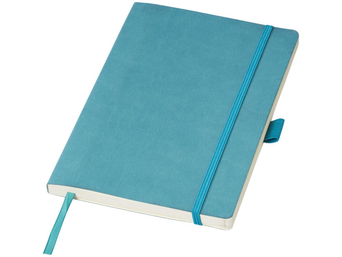 Revello A5 Soft Cover Notizbuch, türkis bedrucken, Art.-Nr. 10707903