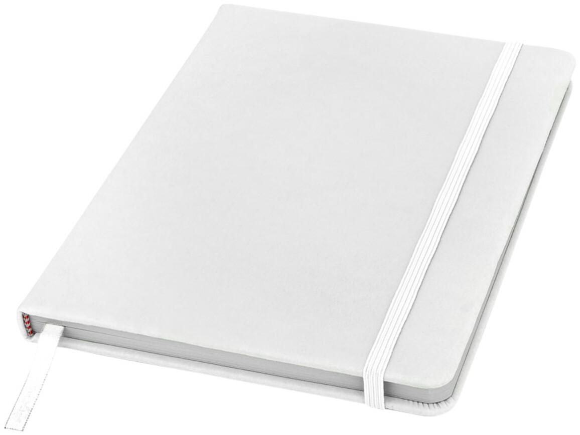 Spectrum A5 Notizbuch mit leeren Seiten, weiss bedrucken, Art.-Nr. 10709102