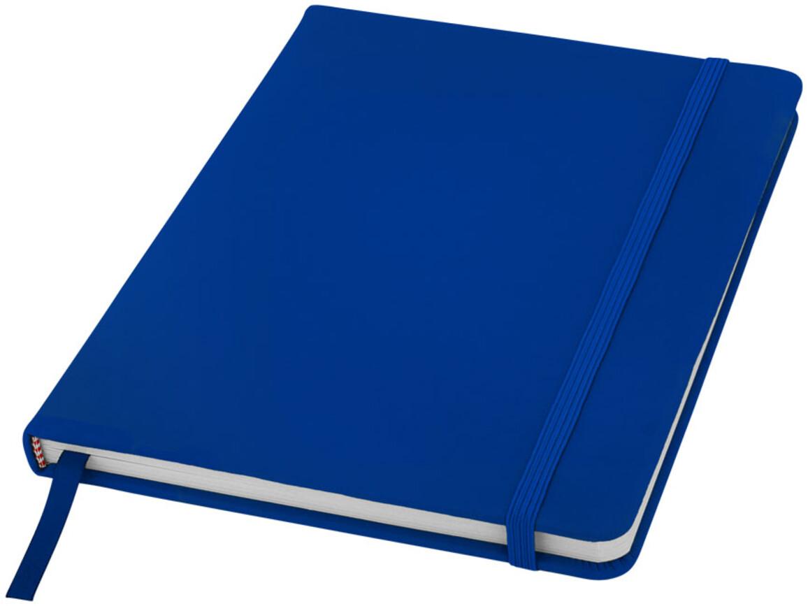 Spectrum A5 Notizbuch mit leeren Seiten, royalblau bedrucken, Art.-Nr. 10709103