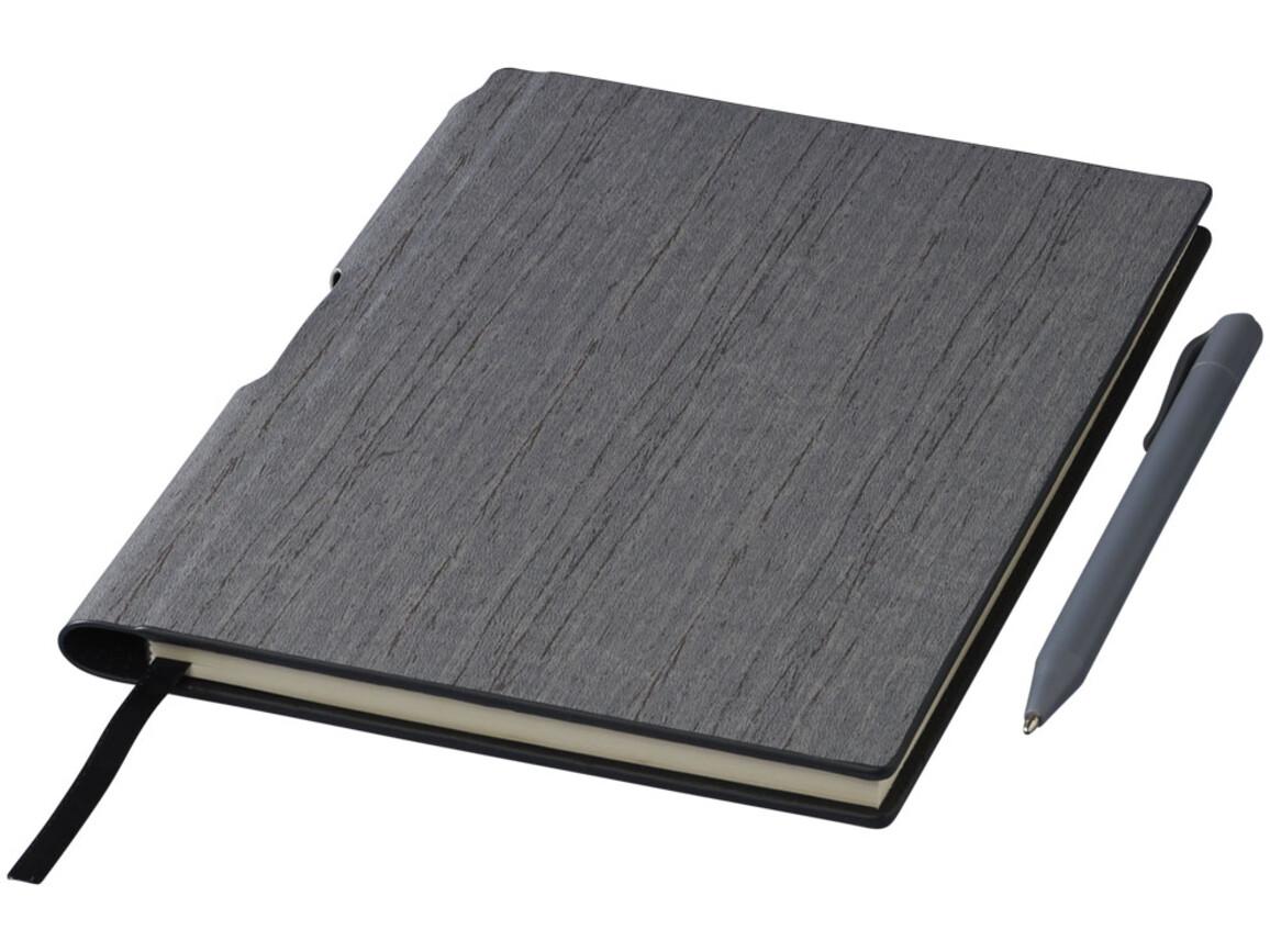 Bardi A5 Hard Cover Notizbuch, grau bedrucken, Art.-Nr. 10709302