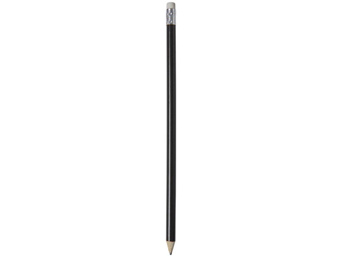 Alegra Bleistift mit farbigem Schaft, schwarz bedrucken, Art.-Nr. 10709801