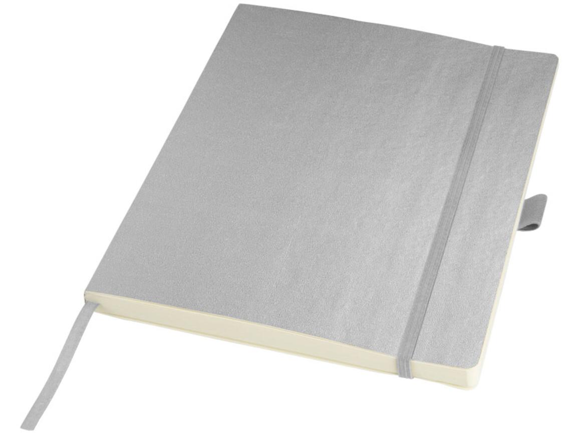 Pad Notizbuch in Tabletgröße, silber bedrucken, Art.-Nr. 10710801