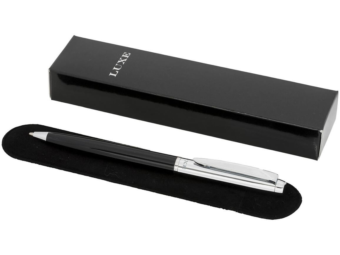 Cepheus Kugelschreiber, schwarz, silber bedrucken, Art.-Nr. 10721401