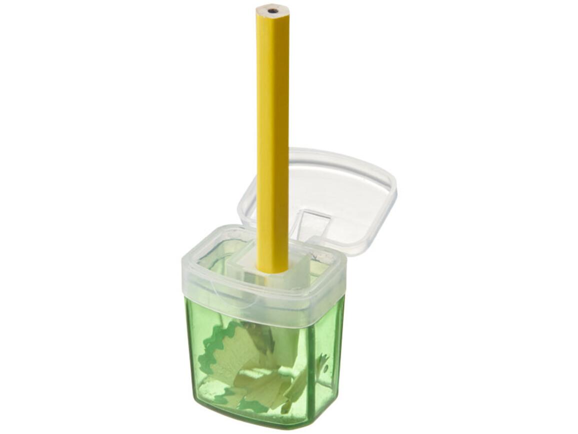 Sharpi Anspitzer mit Behälter, grün bedrucken, Art.-Nr. 10722603