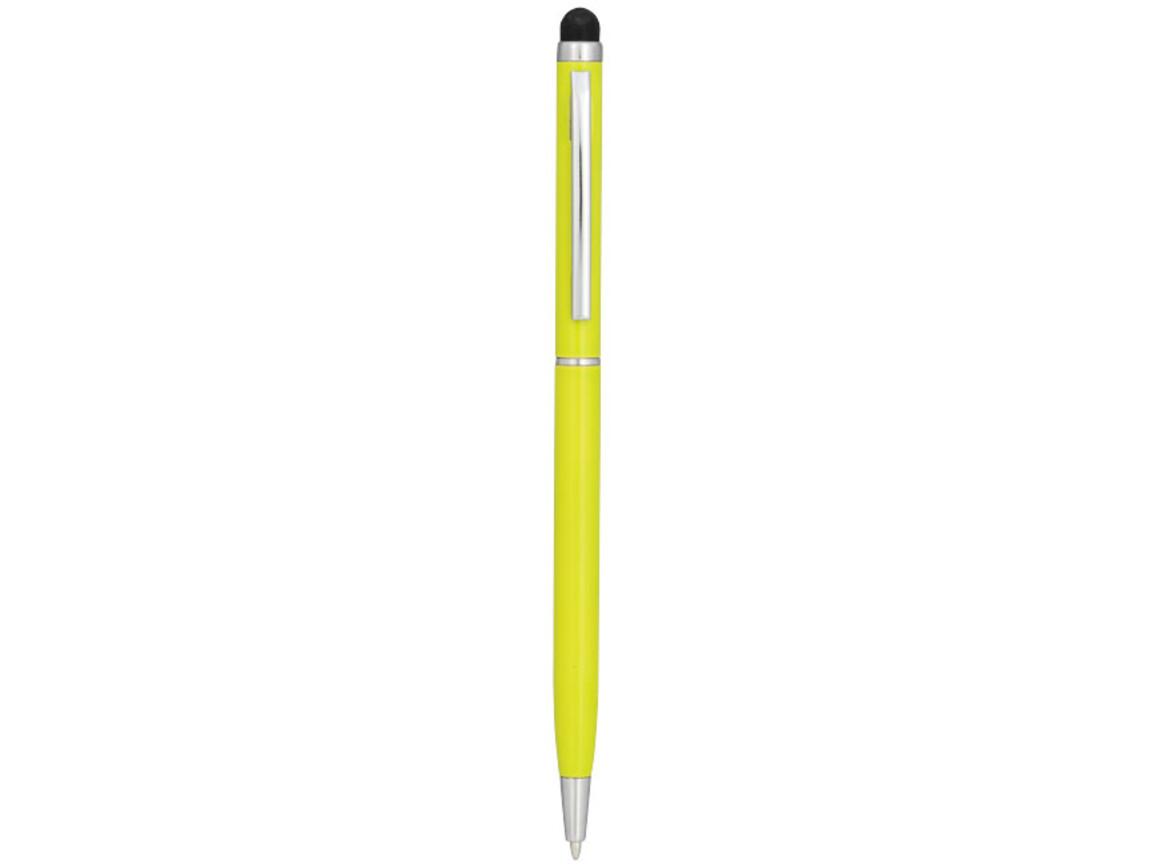 Joyce Aluminium Kugelschreiber, limone bedrucken, Art.-Nr. 10723305