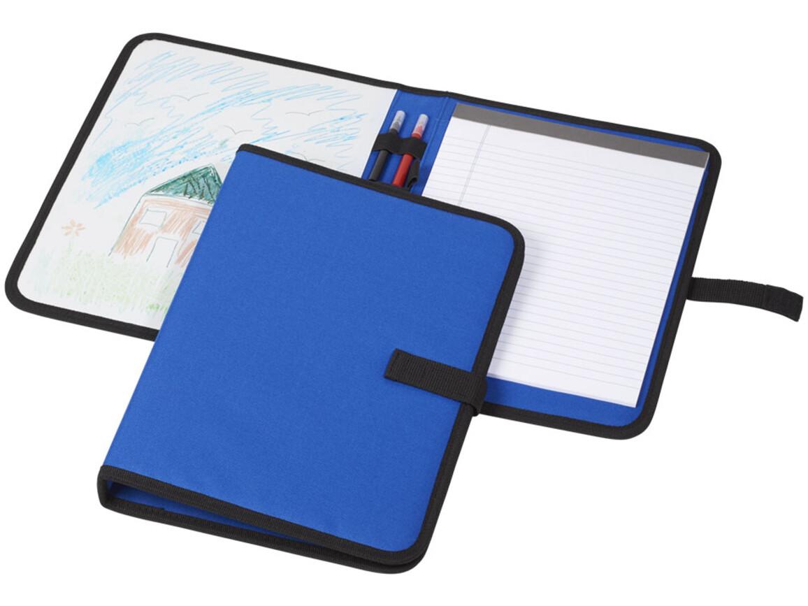 Veela A4 Mappe, blau bedrucken, Art.-Nr. 10723901