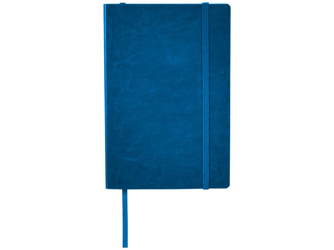 Robusta A5 Lederimitat Notizbuch, navy bedrucken, Art.-Nr. 10725602