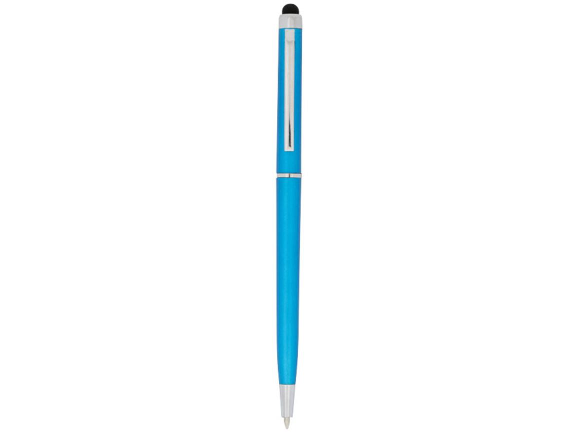 Valeria ABS Kugelschreiber mit Stylus, royalblau bedrucken, Art.-Nr. 10730001