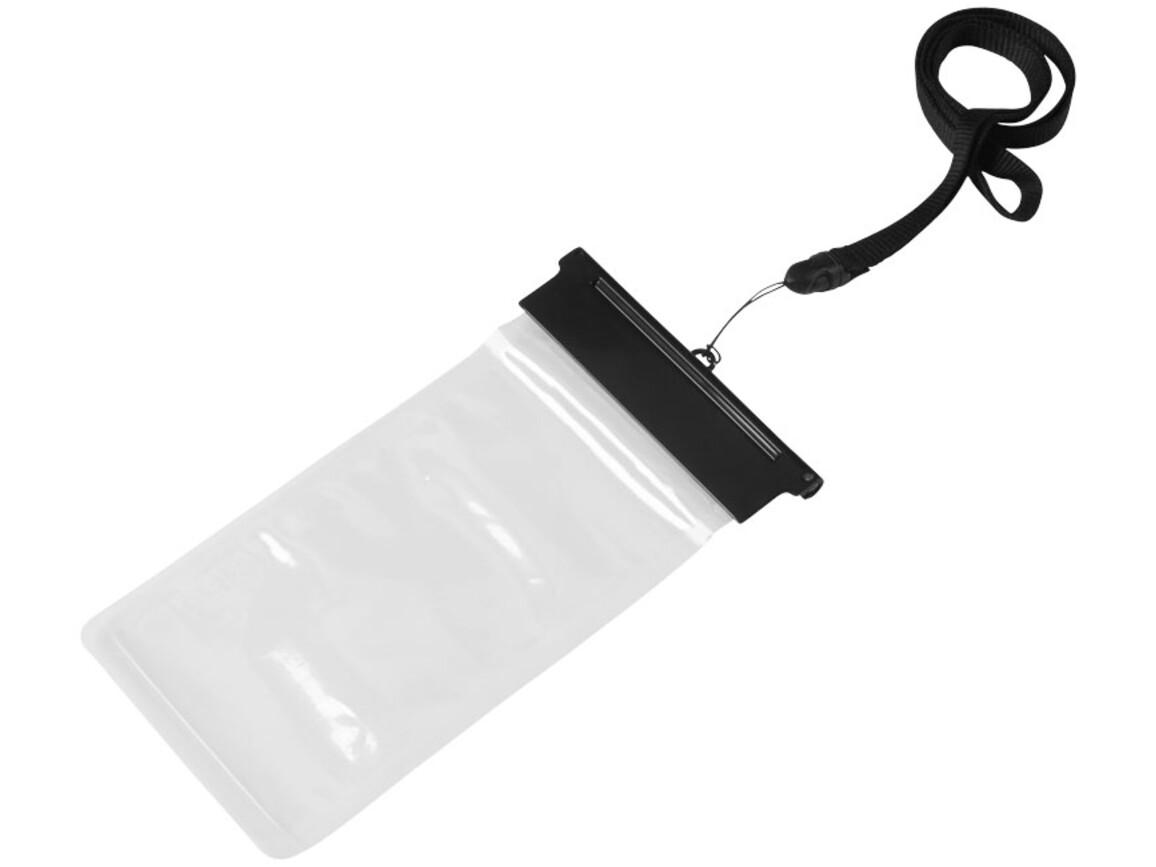Splash wasserfeste Touchscreen Smartphonehülle, schwarz, transparent bedrucken, Art.-Nr. 10819900