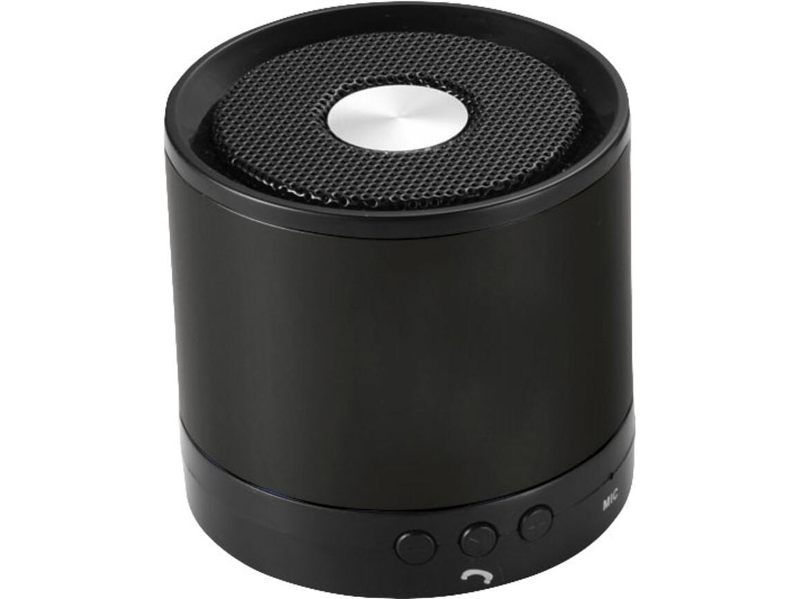Greedo Bluetooth® Aluminium Lautsprecher, schwarz bedrucken, Art.-Nr. 10826400