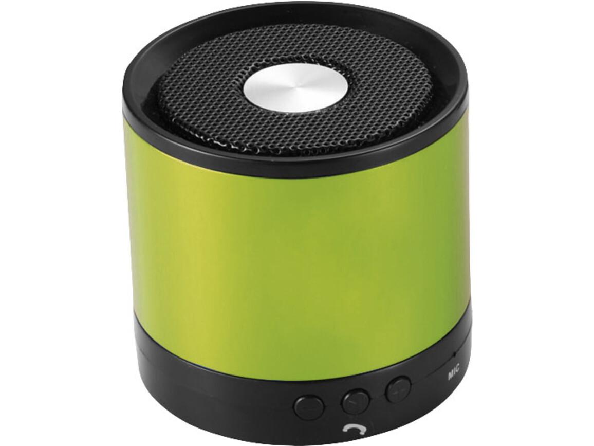Greedo Bluetooth® Aluminium Lautsprecher, limone bedrucken, Art.-Nr. 10826403