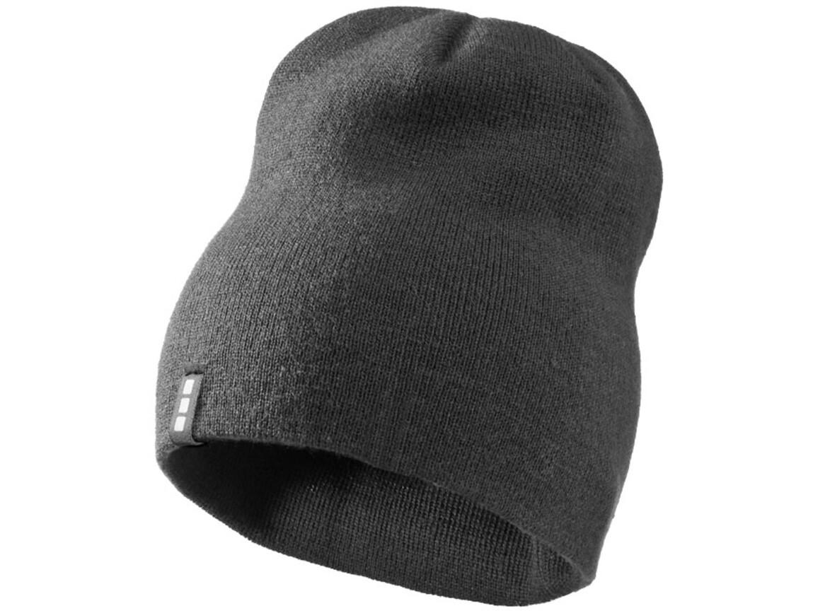Level Mütze, grau bedrucken, Art.-Nr. 11105302