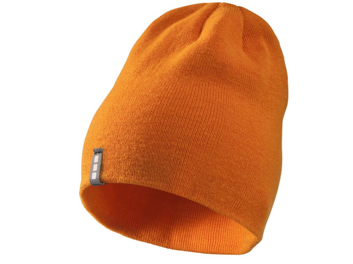 Level Mütze, orange bedrucken, Art.-Nr. 11105304