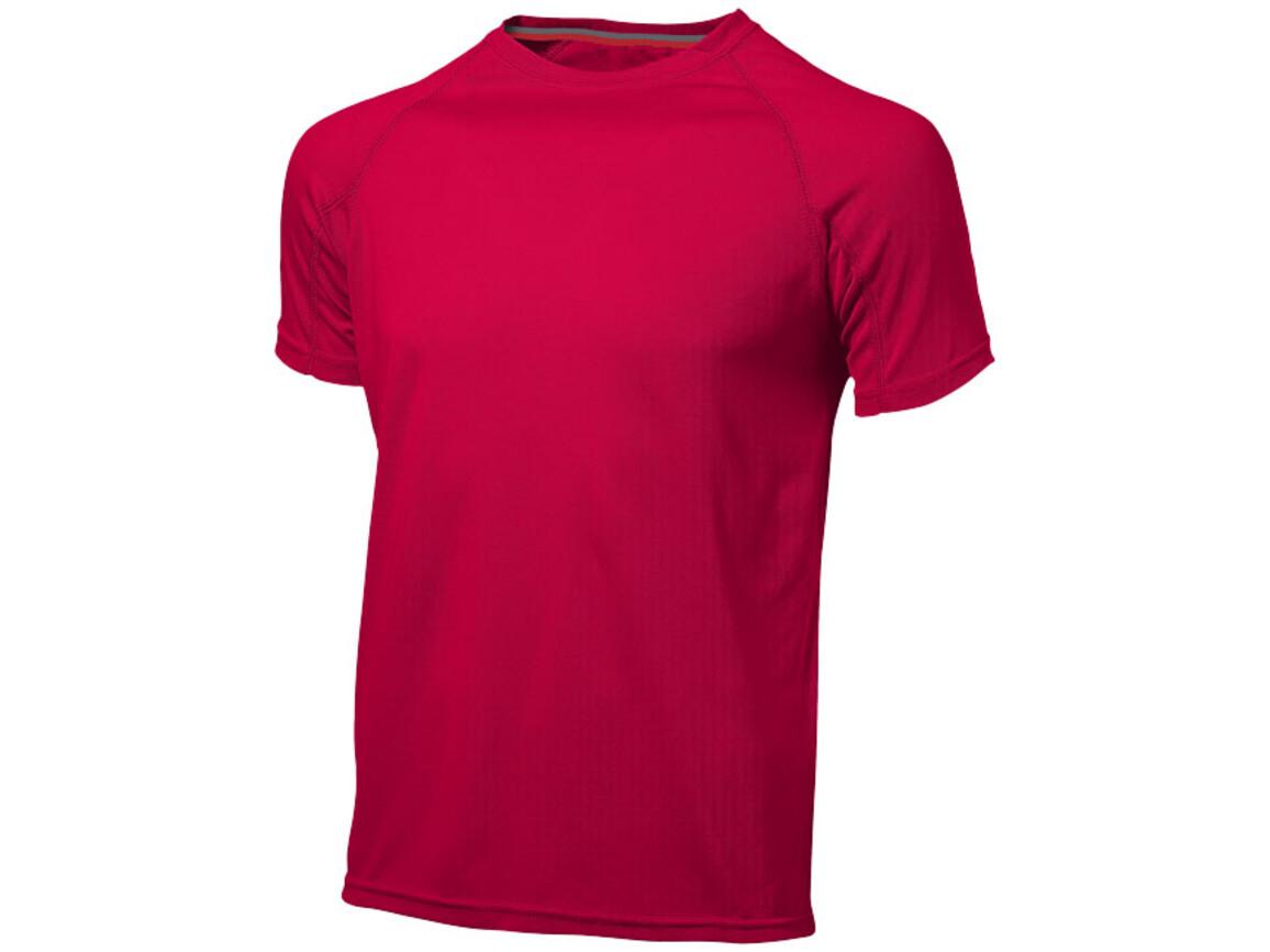 Serve – T-Shirt cool Fit für Herren, rot bedrucken, Art.-Nr. 33019252