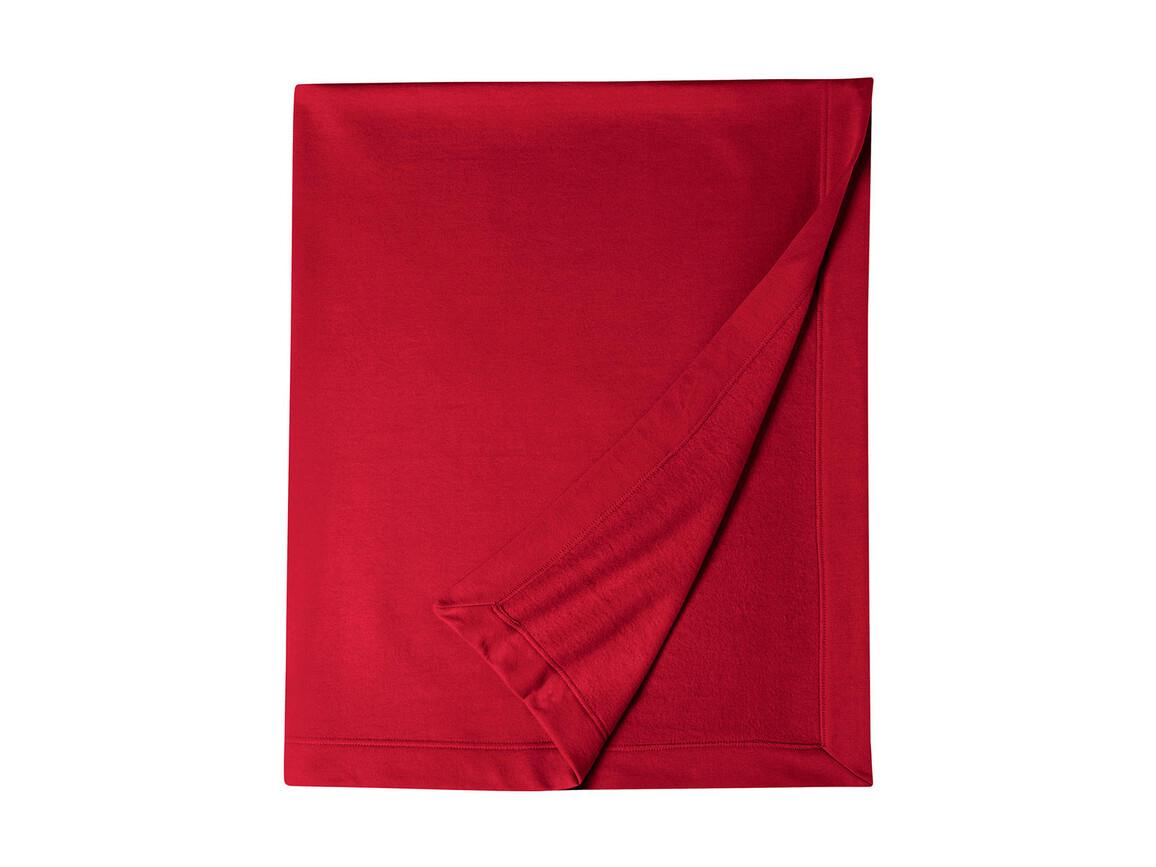 Gildan Gildan DryBlend® Fleece Stadium Blanket, Red, One Size bedrucken, Art.-Nr. 001094000
