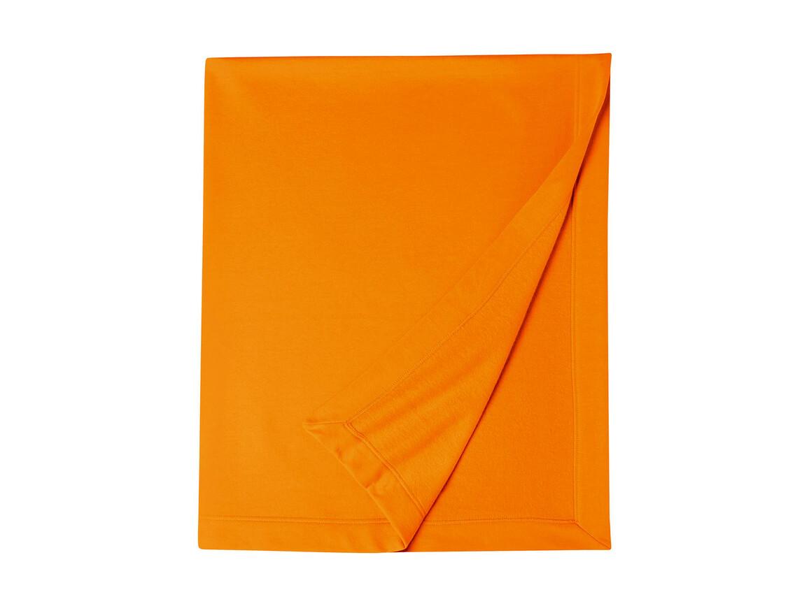 Gildan Gildan DryBlend® Fleece Stadium Blanket, Tennessee Orange, One Size bedrucken, Art.-Nr. 001094110