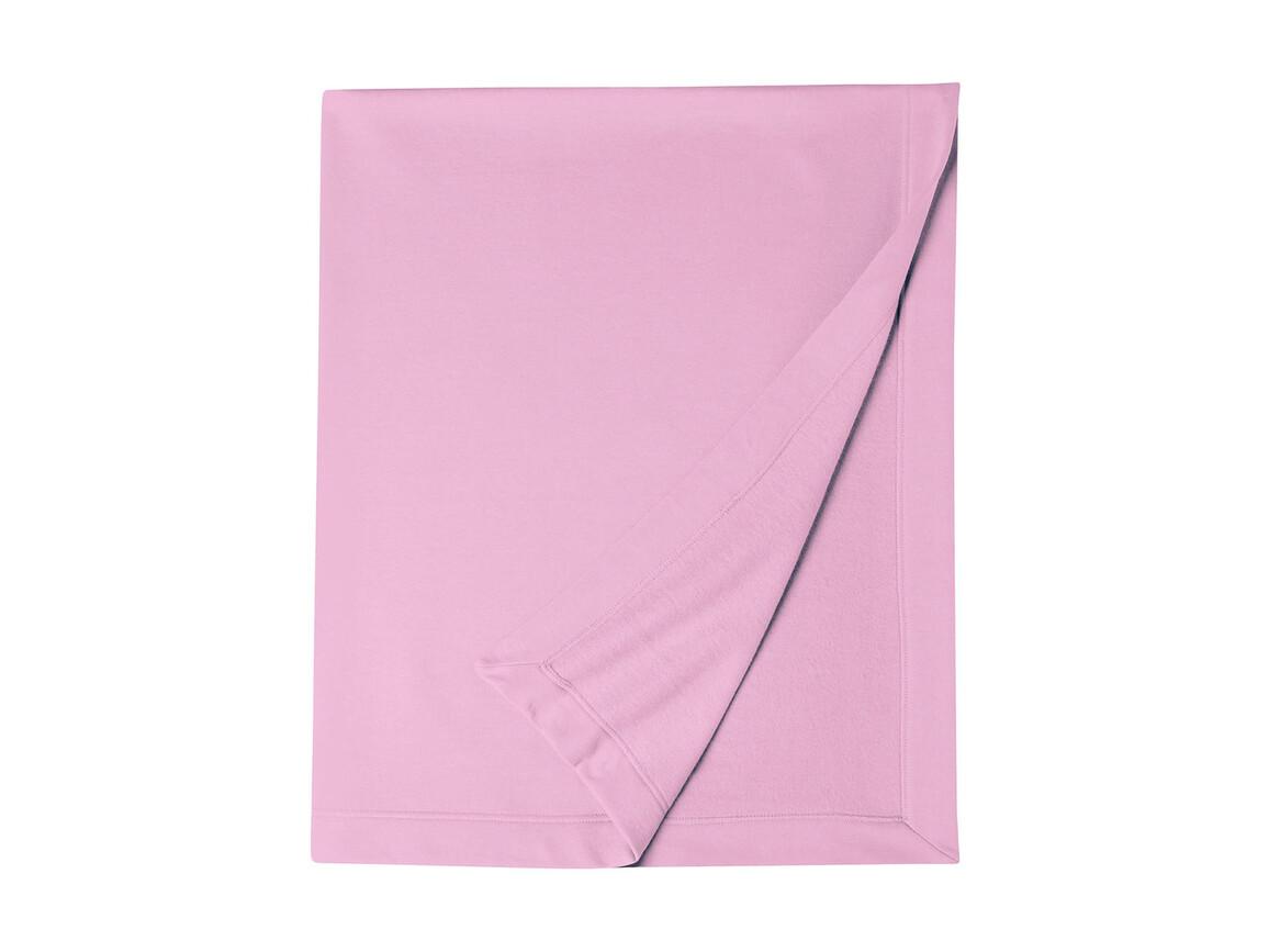 Gildan Gildan DryBlend® Fleece Stadium Blanket, Light Pink, One Size bedrucken, Art.-Nr. 001094200