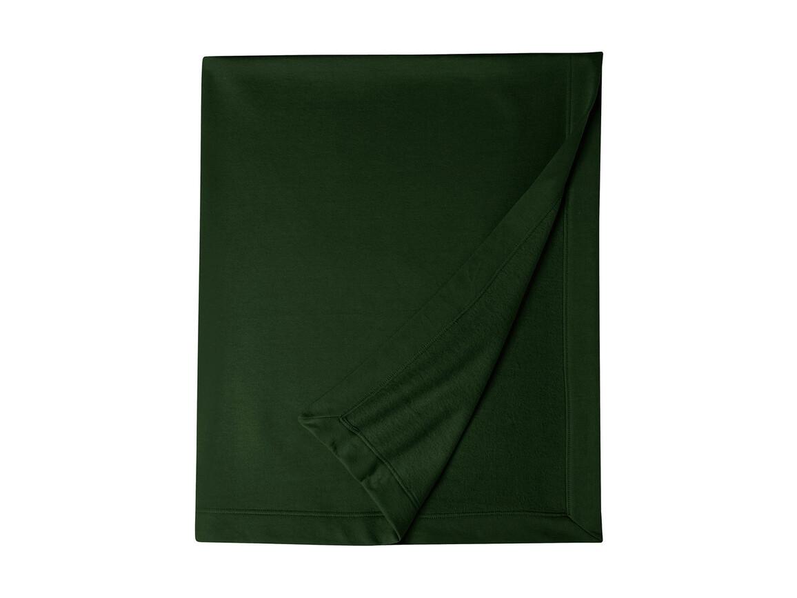 Gildan Gildan DryBlend® Fleece Stadium Blanket, Forest Green, One Size bedrucken, Art.-Nr. 001095410