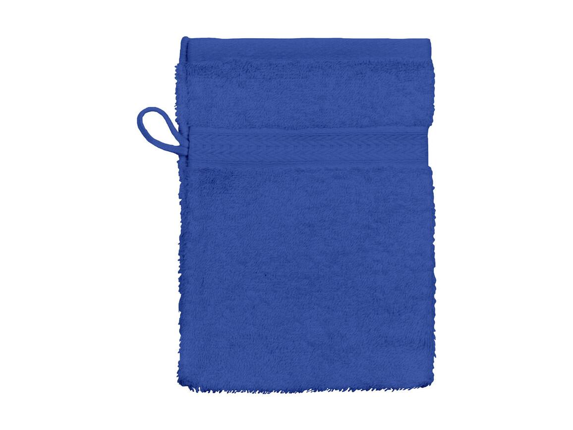 Jassz Towels Rhine Wash Glove 16x22 cm, Royal, One Size bedrucken, Art.-Nr. 002643000