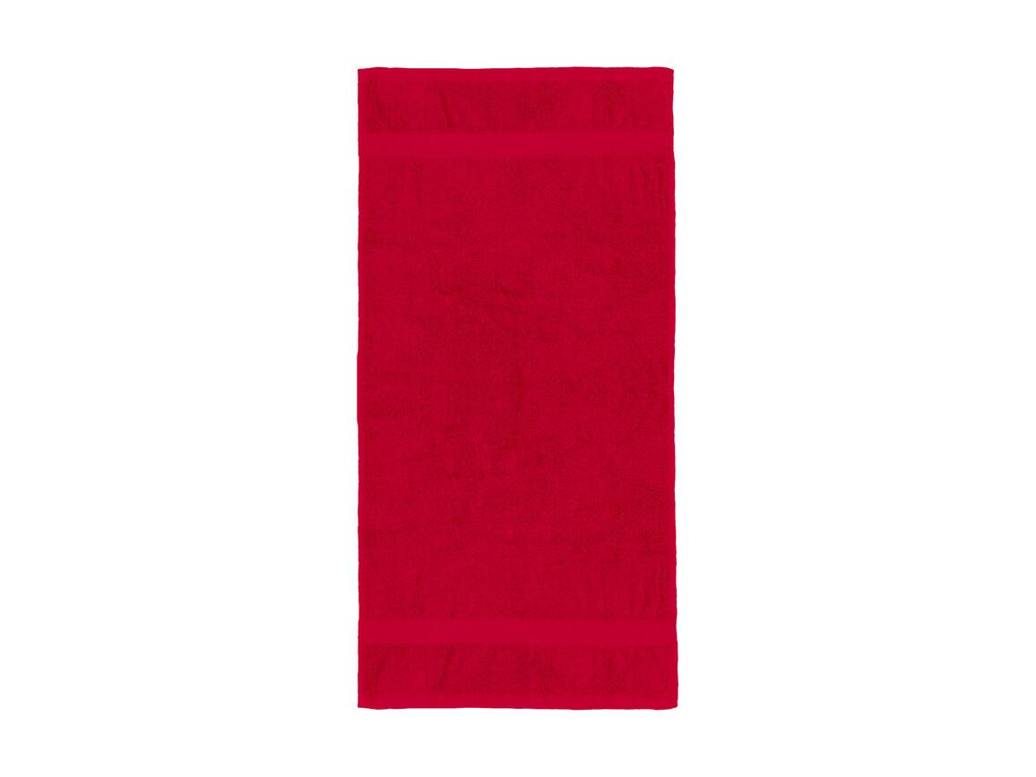 Jassz Towels Seine Hand Towel 50x100 cm, Red, One Size bedrucken, Art.-Nr. 003644000