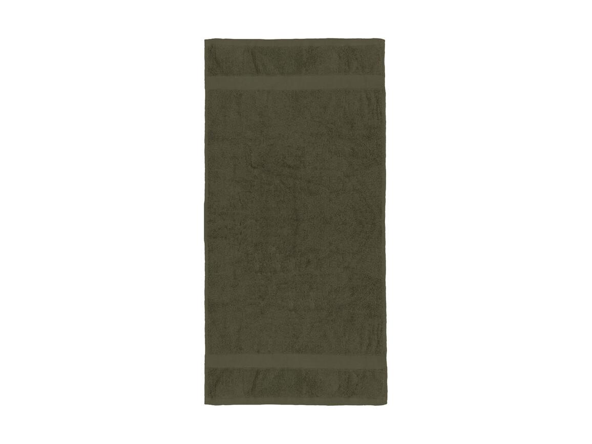 Jassz Towels Seine Hand Towel 50x100 cm, Chocolate, One Size bedrucken, Art.-Nr. 003647020