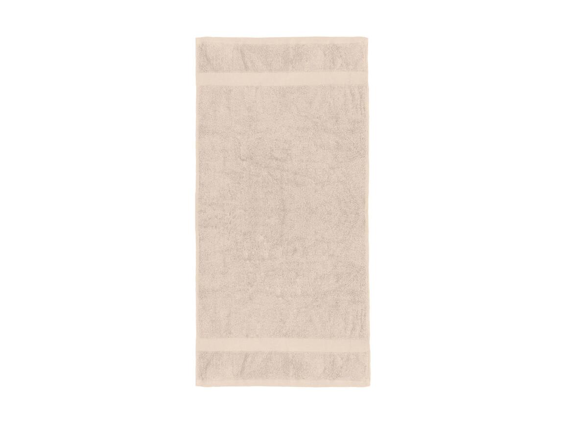 Jassz Towels Seine Hand Towel 50x100 cm, Sand, One Size bedrucken, Art.-Nr. 003647410