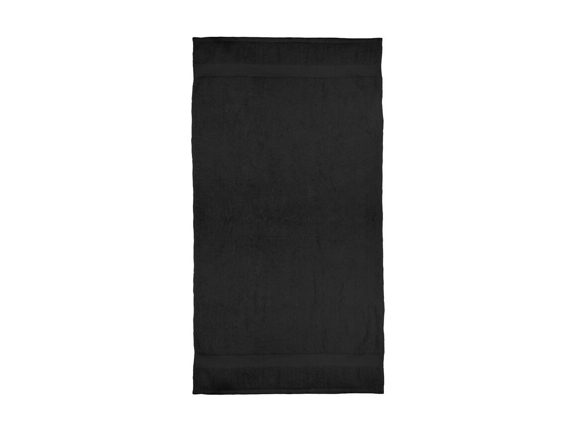 Jassz Towels Seine Bath Towel 70x140cm, Black, One Size bedrucken, Art.-Nr. 004641010