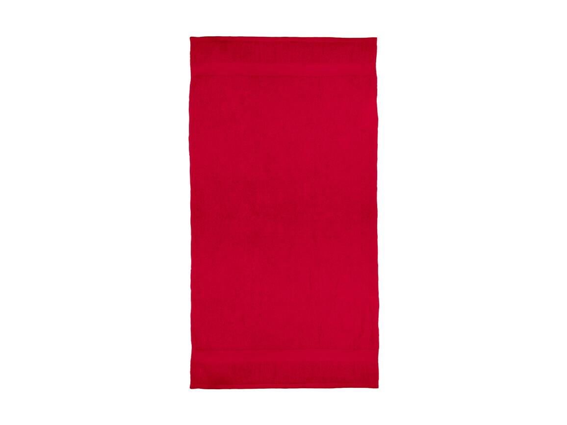 Jassz Towels Seine Bath Towel 70x140cm, Red, One Size bedrucken, Art.-Nr. 004644000
