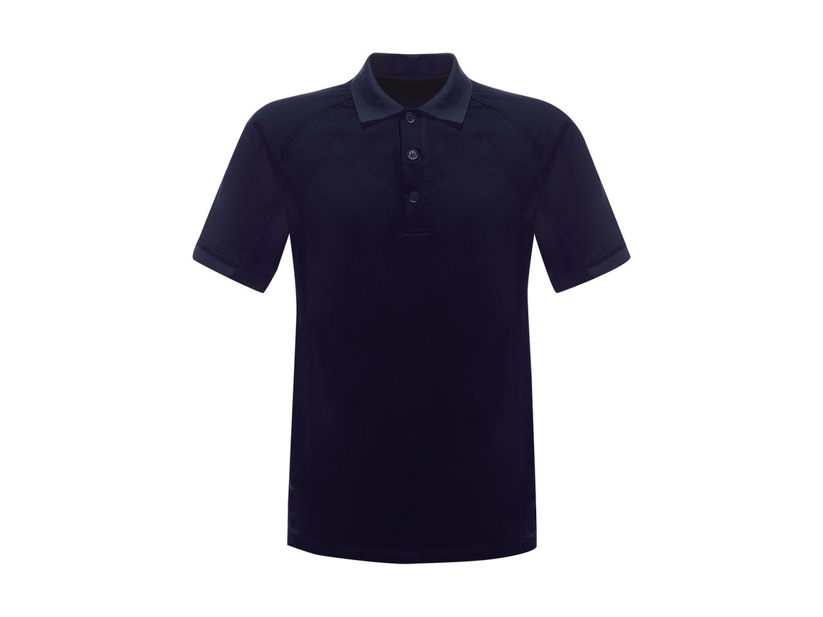 Regatta Coolweave Wicking Polo, Navy, 2XL bedrucken, Art.-Nr. 005172007